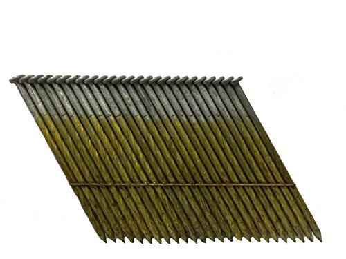 """3"""" Bostitch Style Nails F28WW Screw Shank 28 Degree Wire ACQ"""