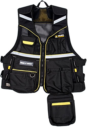 Holmes 10-3530-MHBLK Workwear Tool Vest