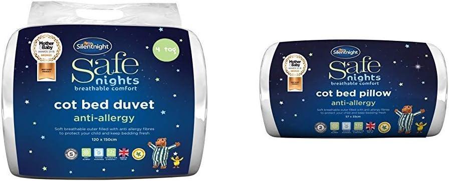 Details about  /NEW Silentnight Microfibre Duvet Anti-Allergy Anti-B@cteria Single 4,5 Tog UK