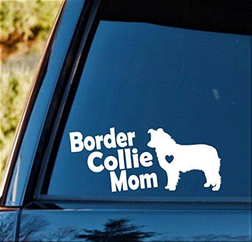 Bluegrass Decals B1143 Border Collie Mom Dog Breed Decal - Collie Dog Sticker