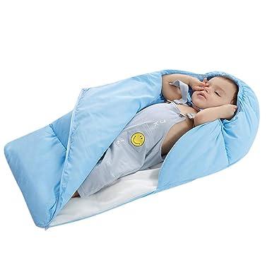 Mitlfuny Invierno Grueso Swaddle Wrap Pierna Aire Libre Edredón Saco de Dormir para Bebé Niños Manto
