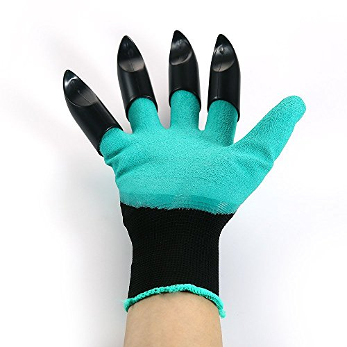 Meanch Garden Genie Gloves and Gardening Gloves Fingertips Uniex Right Claws by Meanch
