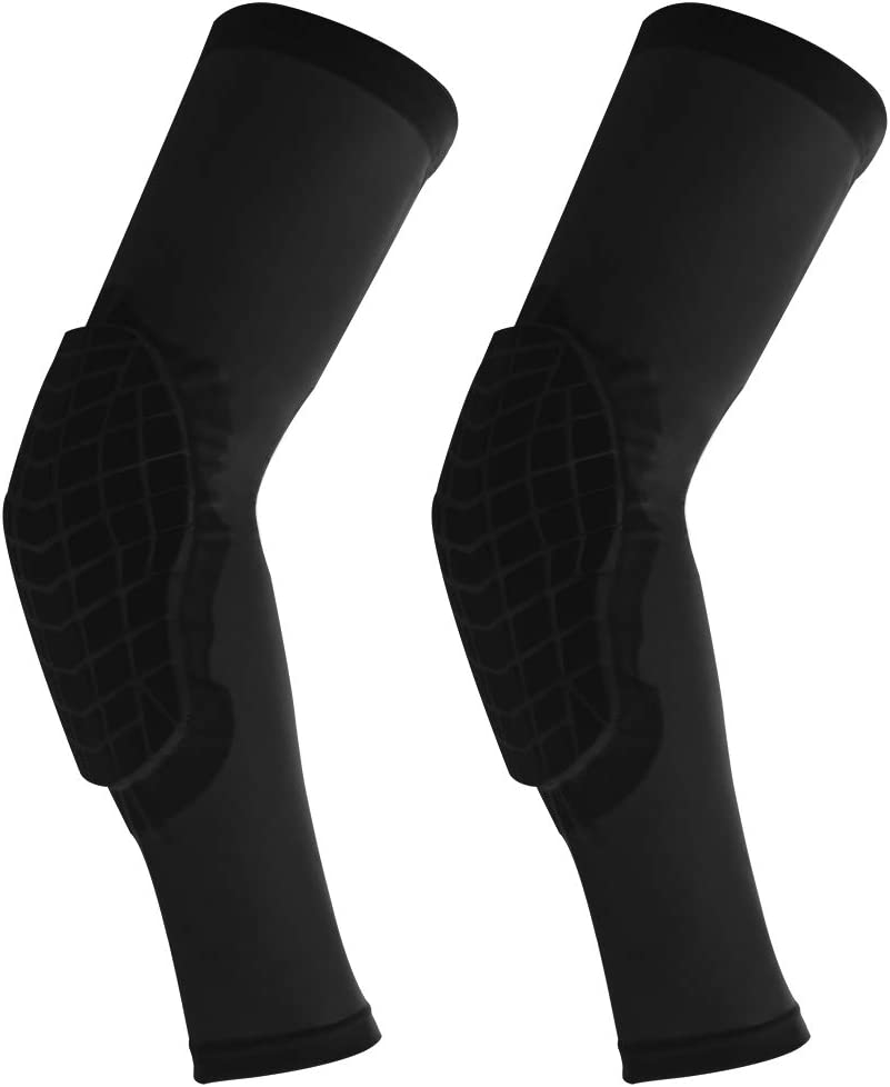 Cantop Knee Pads and Elbow Pads for 1 Pair Basketball Football Volleyball Leg Sleeve Kneepad Padded Support Knee Brace Shin Guards for Girls Boys Kids ...