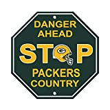 Fremont Die NFL Green Bay Packers Stop Sign