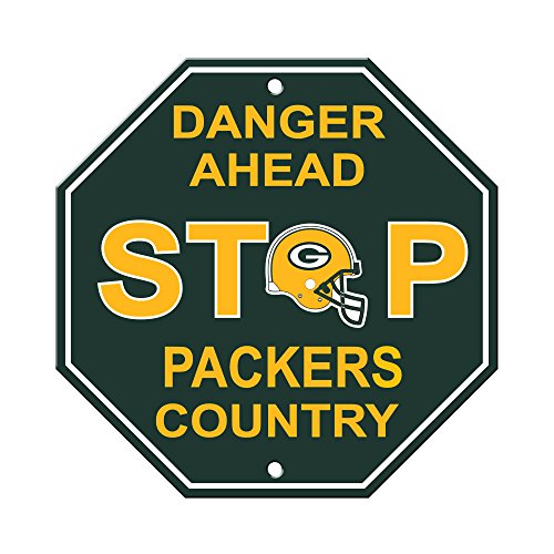 Fremont Die NFL Green Bay Packers Stop Sign ()