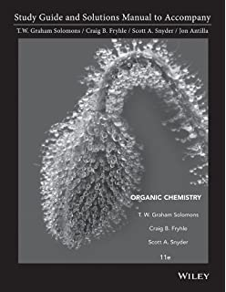 Organic chemistry t w graham solomons craig b fryhle student study guide and student solutions manual to accompany organic chemistry 11e fandeluxe Gallery