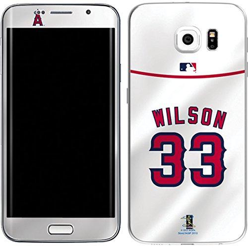 MLB - Los Angeles Angels CJ Wilson #33 Skin for Galaxy S6 Edge