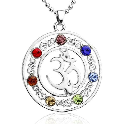 Chakras Pendant Crystal Healing Balancing