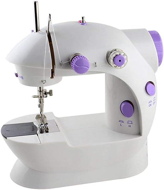 RZChome Mini máquina de coser portátil fácil de usar para ...