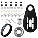 XCSOURCE DIY Electric Skateboard Longboard Kit Parts Pulleys And Motor + Belt + Bracket + Screw Tool Set Mount For 80mm Wheels OS914