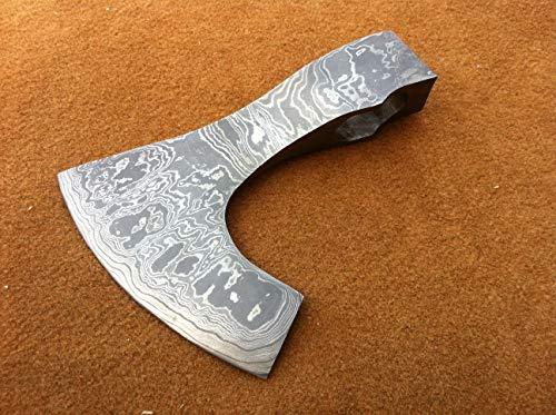 (Damascus Knife Handmade - AXE Hatchet Head only JNR001)