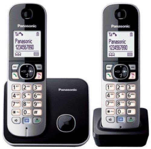 136 opinioni per Panasonic KX-TG6812GB nero- Cordless Standard- Duo