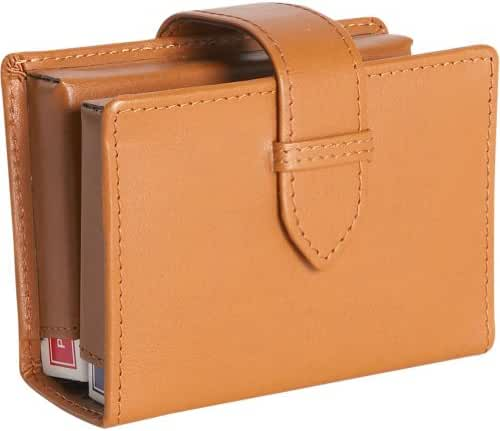 Royce Leather Mansfield Collection Magazine Holder
