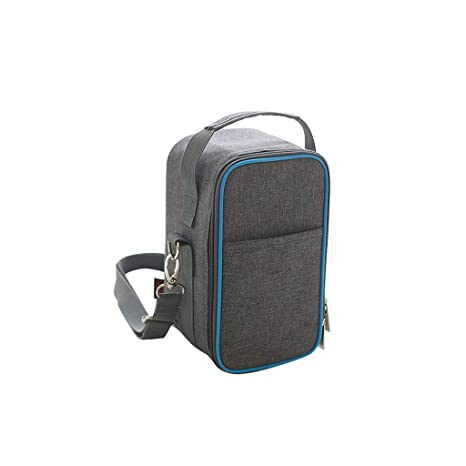 77a2c691d Yilian yecanbeibao Aluminum foil Thickened Portable Shoulder Bag Insulation  Bag Waterproof Lunch Box Bag Cylindrical Lunch