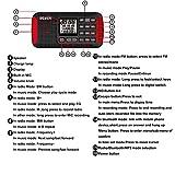 DEGEN CY-1 Radio Wireless Crank Dynamo Solar Emergency FM /MW/ SW Alarm Clock Shortwave Camping Travel Portable Radio with LCD Display Flashlight SOS Bluetooth Speaker MP3 Player and Recorder