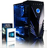 VIBOX Gaming PC - Supernova 18 - 4.2GHz AMD FX 8-Core CPU, Geforce GTX 1060, VR Ready, Extreme, High Performance, Super Fast, Desktop Computer with Game Bundle, Windows 10 OS, Blue Internal Lighting and Lifetime Warranty* (Super Fast AMD FX 8300 Eight 8-Core CPU Processor, Nvidia GeForce GTX 1060 3GB Graphics Card, 16GB DDR3 1600MHz High Speed RAM Memory, 1TB (1000GB) Sata III 7200rpm Hard Drive HDD, 85+ Rated PSU Power Supply, Vibox Tactician Blue LED Gaming Case, AM3+ Motherboard)