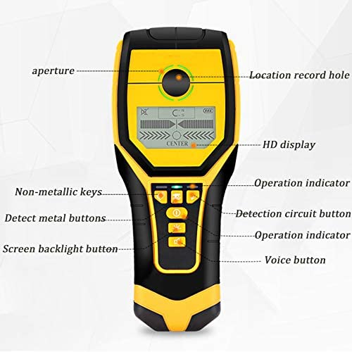 Stud Finder,Wall Scanner Detector with HD LCD Backlight Display for The Center And Edge of Metal, Studs, AC Wire and Wood Detection
