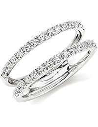 Amazoncom Cubic Zirconia Ring Enhancers Wedding Rings