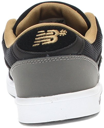 New Balance numérico zapatos 598–Color Negro y dorado