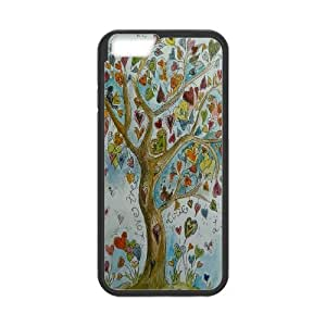 """JenneySt Phone CaseLove Tree Pattern For Apple Iphone 6,4.7"""" screen Cases -CASE-11"""