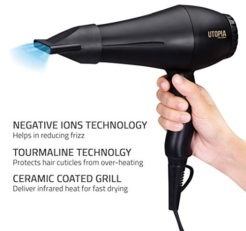 Review Professional Hair Dryer with