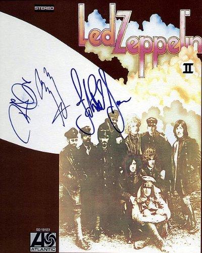 Led Zeppelin Autographed Preprint Signed 11x14 Poster Photo