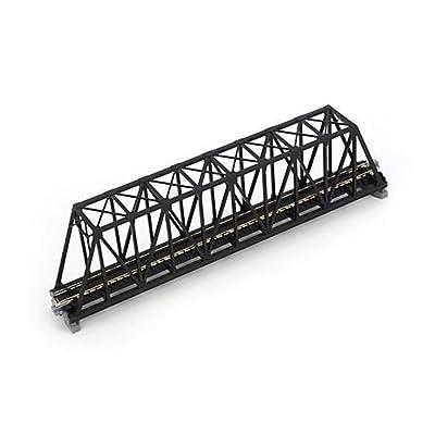 "Kato KAT20434 N 248mm 9-3/4"" Truss Bridge, Black: Toys & Games"