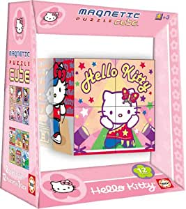 Educa Borrás 14276 - Magnetic Puzzle Cube 8 Hello Kitty