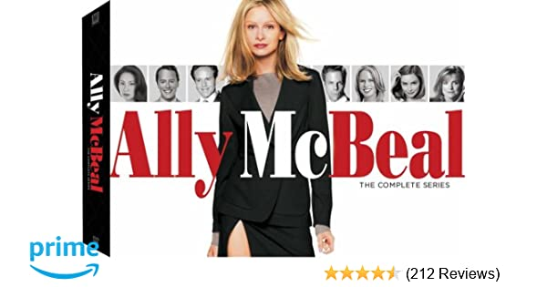 Amazoncom Ally Mcbeal The Complete Series Includes