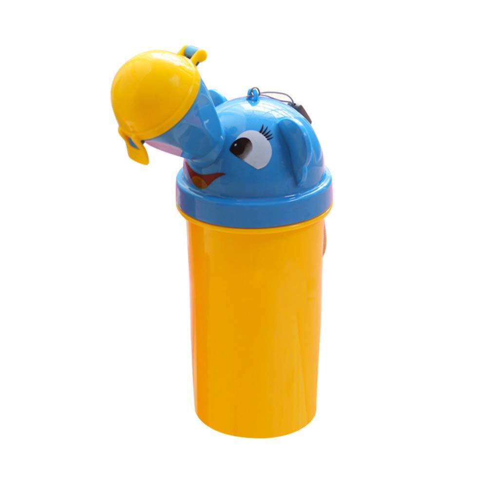 Toyvian Orinal Port/átil de Beb/é Urinario de Emergencia Orinal de Entrenamiento de Ni/ños para Camping Viajes en Coche