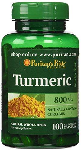 Puritans Pride Turmeric mg 100 Capsules product image