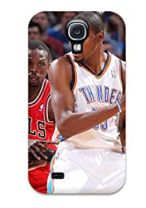9166866K556317213 oklahoma city thunder basketball nba chicago bulls NBA Sports & Colleges colorful Samsung Galaxy S4 cases