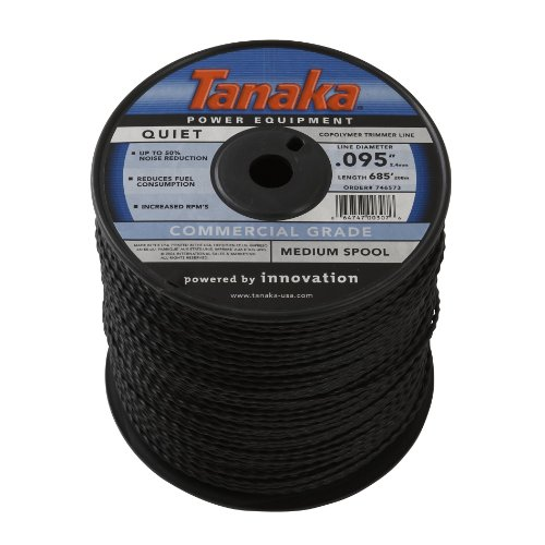 Hitachi 746573 .095-Inch 685-Feet Trimmer Line Spool, Black by Hitachi