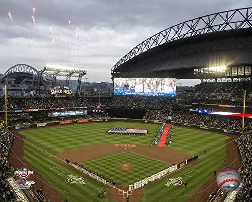 "Safeco Field Seattle Mariners MLB Stadium Photo (Size: 11"" x 14"")"
