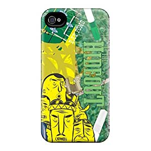 Iphone 4/4s CWS5956oASC Custom HD Green Day Pictures Scratch Protection Cell-phone Hard Covers -ColtonMorrill