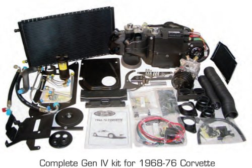 Vintage Air 961174 Air Conditioning Complete Kit (68-76Corvettewith o Factory Air) by Vintage Air