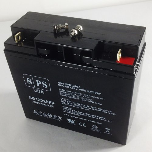 SPS 12V 22Ah Cute 2&4 Wheel Electric Scooter SLA Replacement Battery