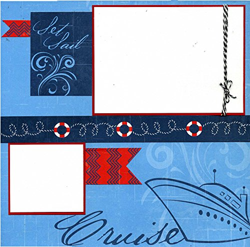 Set Sail - Cruise - Premade Scrapbook Page ()