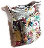 Ozark Mountain Quilter Breathable Eco-Friendly Quilt Storage Bag 4 Pack (Extra Large) Comforter Bag Blanket Bag Clothes Bag Gift Bag