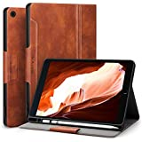 Antbox iPad 9.7 2018/2017 Case with Built-in Apple Pencil Holder Auto Sleep/Wake Function PU Leather Smart Cover for iPad 9.7 iPad 5th/6th Generation