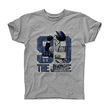 Aaron Judge Sketch B New York Y Baseball Kids T-Shirt by 500 LEVEL