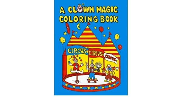 amazoncom clown magic coloring book dummy toys games - Magic Coloring Book