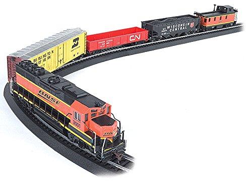 Bachmann Rail Chief Ready To Run Electric Train Set - Ho Scale