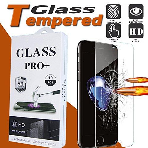 Iphone 7 Plus 9H Premium Proof Tempered Glass Film Guard Screen Protector With HD Anti-Fingerprint Film Merchandise