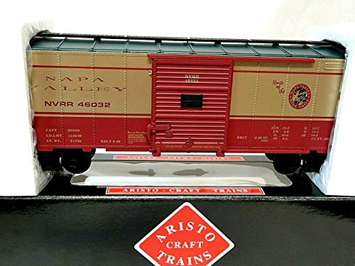 (Aristo Craft Trains NAPA Valley Wine Train Series Steel Box Car Car #46032 G)