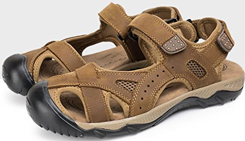 Mens Idrotts Sandal Utomhus Sport Sandal Ljusbrun