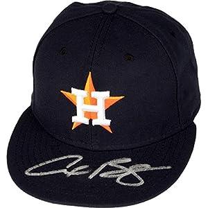 Alex Bregman Houston Astros Autographed New Era Cap Fanatics Authentic Certified Autographed Hats