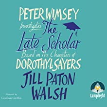 The Late Scholar Audiobook by Jill Paton Walsh Narrated by Gordon Griffin