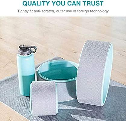 SinceY Yoga Wheel Aro Yoga 6 Pulgadas, Capacidad de Carga de ...