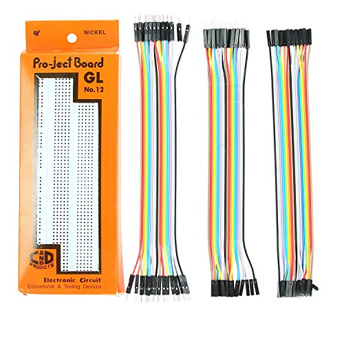 ePro Labs KIT-0010 Breadboard + 60 Pieces Jumper Wires Set Price & Reviews